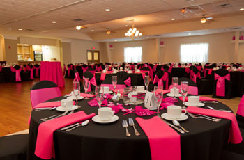 banquet hall rental